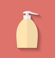Icon of Liquid Soap Flat style vector image