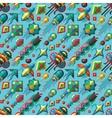 Kite background vector image