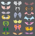 Wings Cute Collection Part III vector image vector image