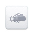 white cloud icon Eps10 Easy to edit vector image