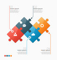 4 options infographic template vector image