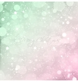Abstract Christmas snow texture background vector image