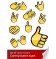 body language vector image vector image