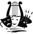 symbols of arts vector image