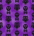 Halloween Abstract Seamless Texture vector image