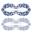 antique retro lace background vector image vector image