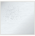 Dotted metal plate vector