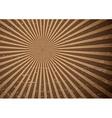 Grunge sun rays vector image vector image