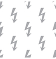 New Lightning seamless pattern vector image