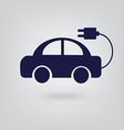 energy icon car vector image