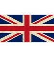 United Kingdom paper flag vector image