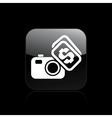 buy sell icon vector image vector image