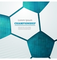 football championship vector image
