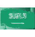 Saudi Arabia national flag vector image
