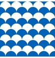 wave circle seamless vector image