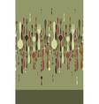 Restaurant menu cutlery pattern vector image vector image