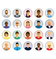 people profiles vector image