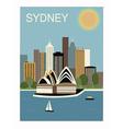 Sydney Australia vector image