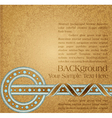 vintage ornate background vector image