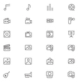User Interface Icons 6 vector image
