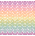 seamless pastel wave pattern vector image
