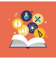 education and academia related icons image vector image