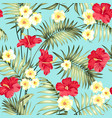 tropical design for fabric swatch vector image
