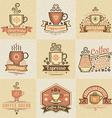 coffee bar vector image