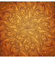 Ethnic round ornament vector image vector image