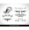 vector set of design elements vector image