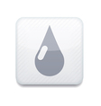 white drop icon Eps10 Easy to edit vector image vector image