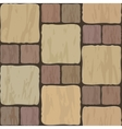 Stone tile vector image