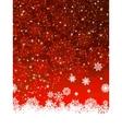 Christmas decoration background EPS 8 vector image