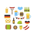 set with oktoberfest elements vector image