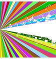 beams and tendrils vector image vector image