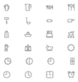 User Interface Icons 9 vector image