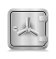 Safe icon vector image vector image
