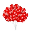 Set of Colored Balloons vector image