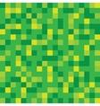 Abstract block texture green Pixel vector image