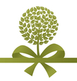 Tree a gift vector image vector image