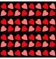Pink Red heart Seamless Pattern Wrapping paper vector image