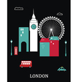 London England vector image