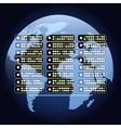 global net communications vector image