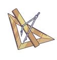 Measurement Instrument Set vector image