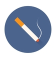 smok cigarette icon vector image