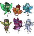 fairies vector image vector image