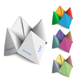 Origami Fortune Tellers vector image