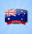 Australian icon vector image