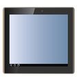 tablet pad vector image vector image