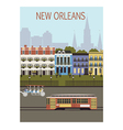 New Orleans city vector image